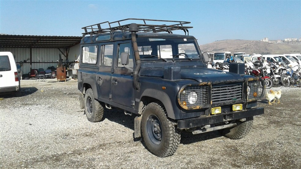 2008 MODEL LAND ROVER 110 SW 4X4
