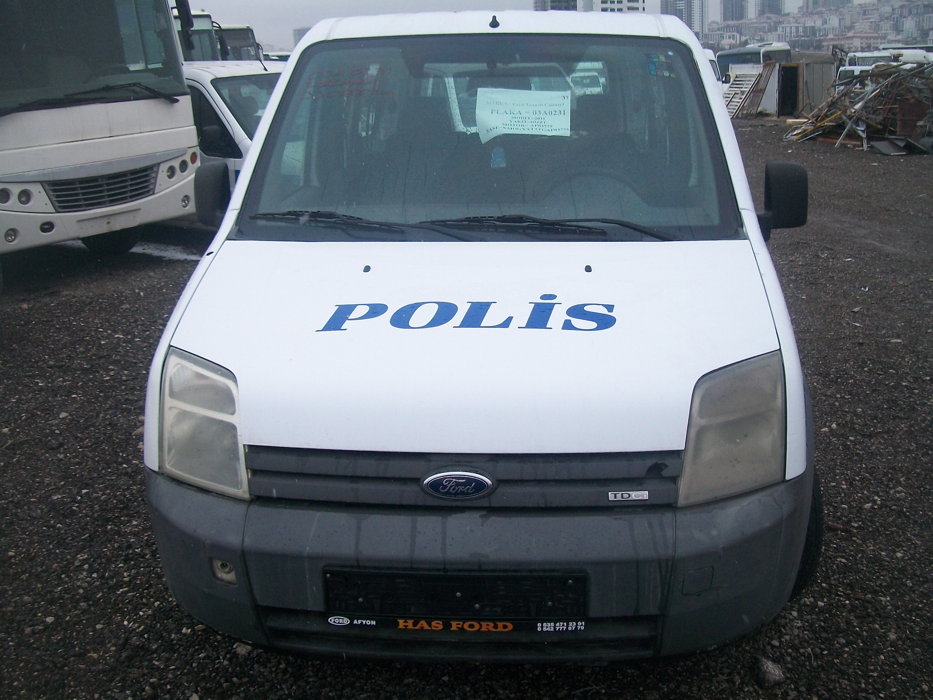 FORD CONNECT 1.8 DİZEL 2008 MODEL (HASAR KAYITSIZ)